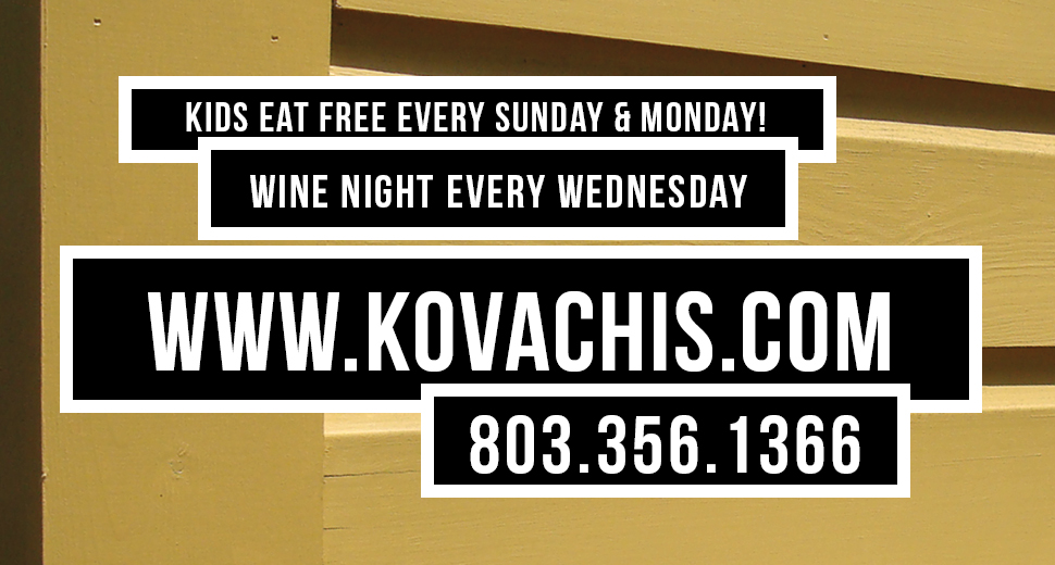 WELCOME TO KOVACHIS!  ITALIAN, GREEK & NEW YORK PIZZA